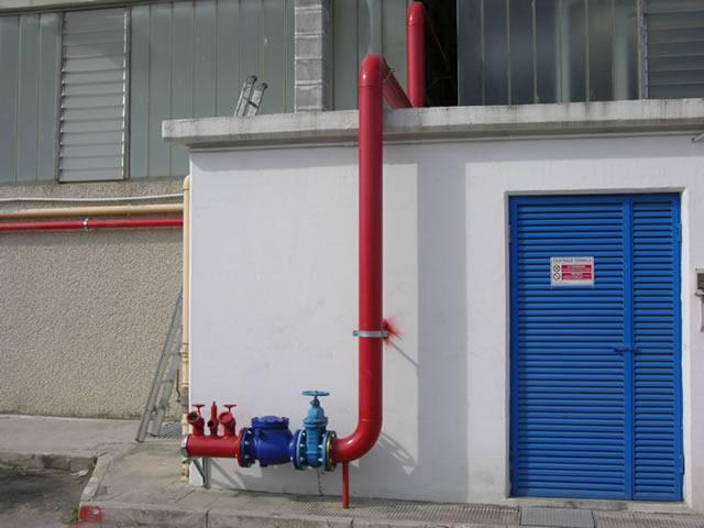 Impianto antincendio per Cofra (Barletta)