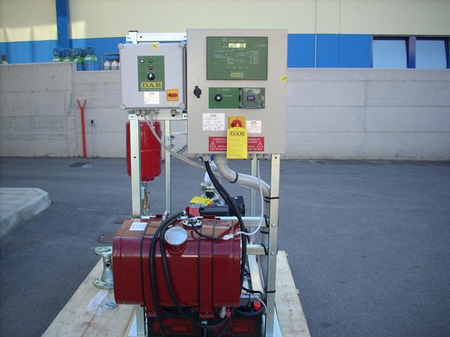 Gruppo pompe per impianti antincendio