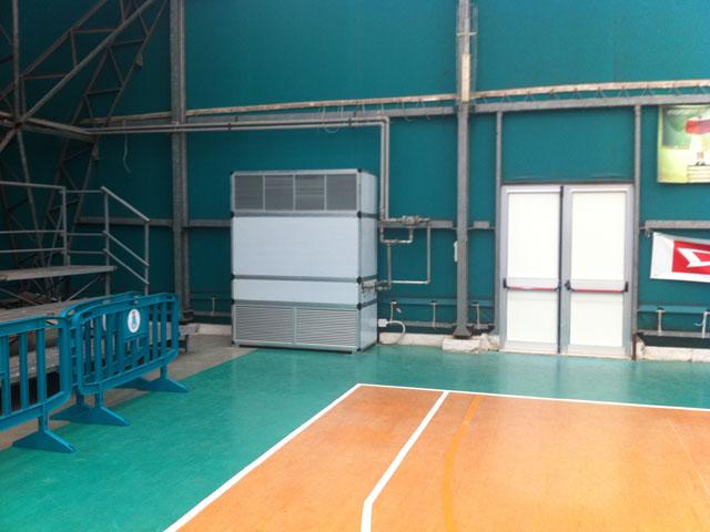 Impianto di climatizzazione per palestra